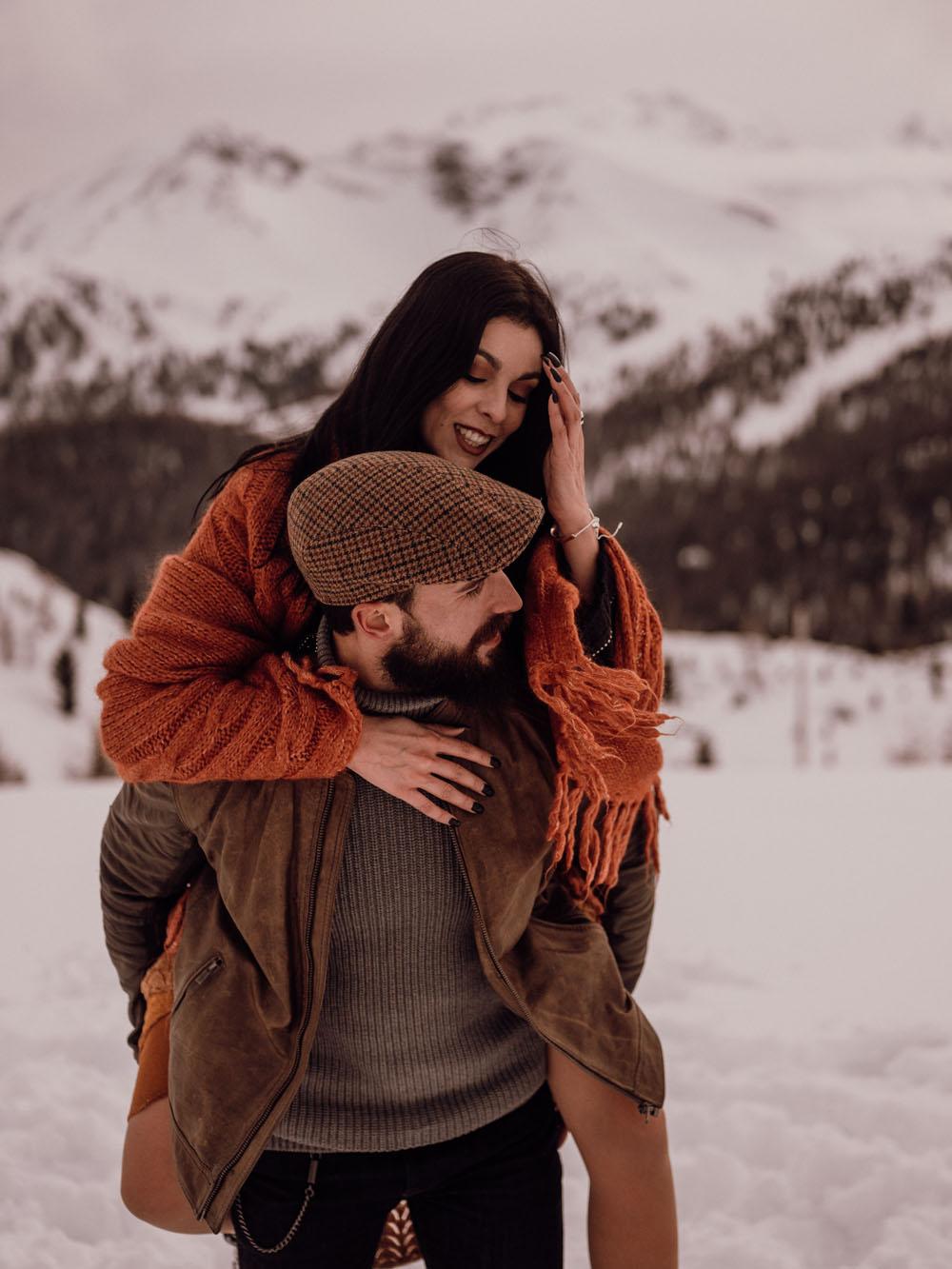 Sofia & David in Italian dolomites