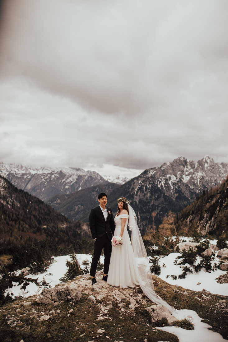 Wedding in the mountains